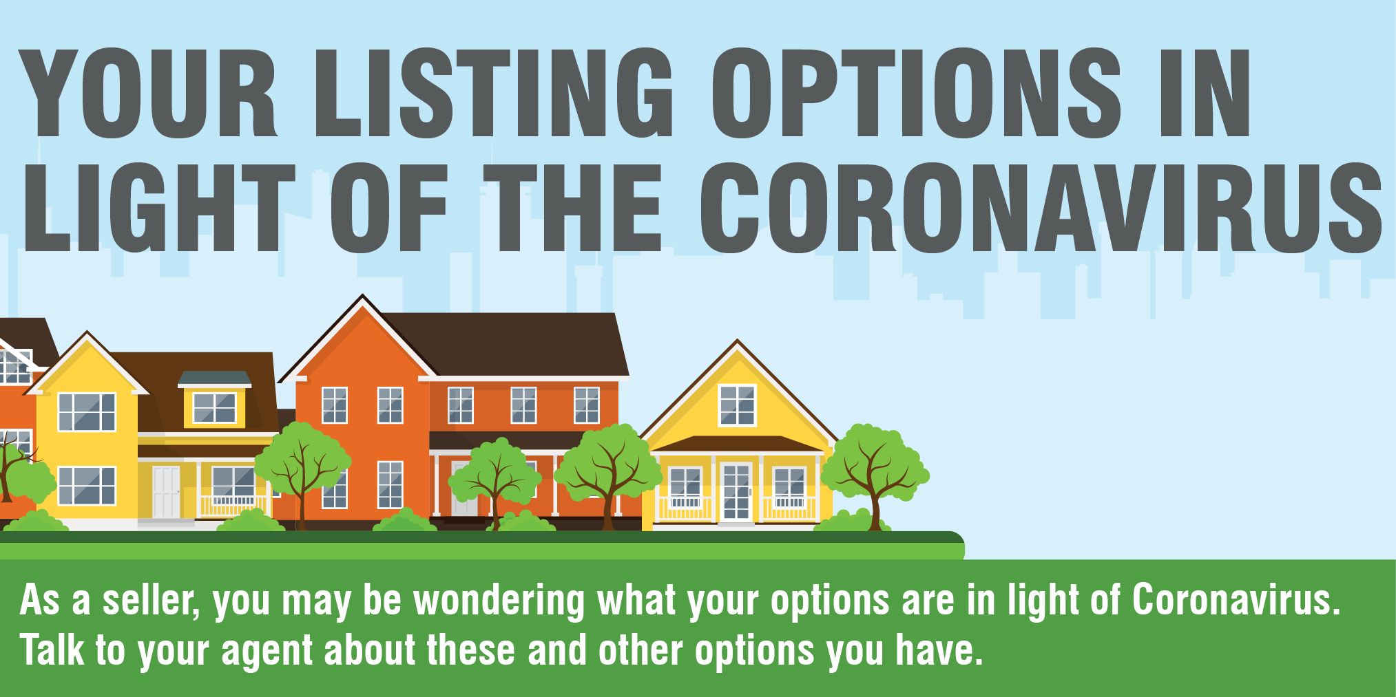 Your Listing Options in Light of the Coronavirus