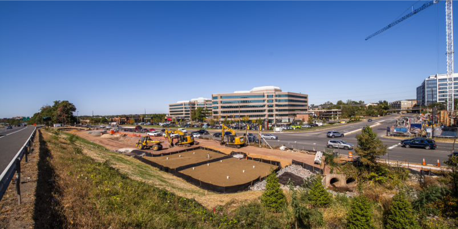 Stormwater Management Facilities Construction for Silver Line Phase 2 Remains on Track