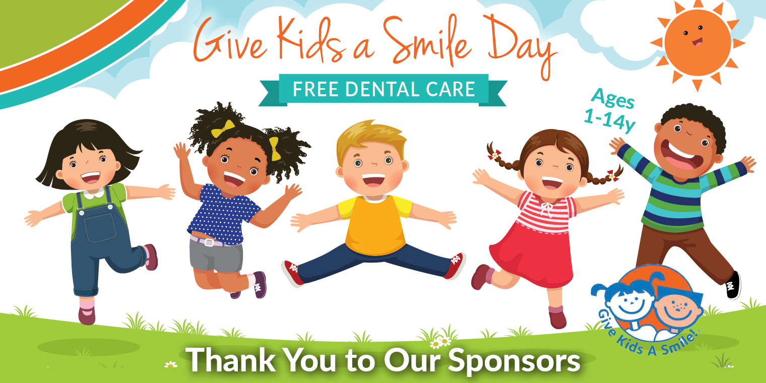 Smile Wonders Thanks the Sponsors of Give Kids a Smile® Day
