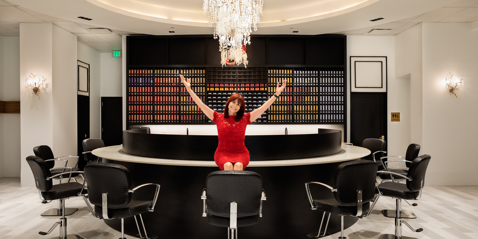 Beloved Salon, Colour Bar Studio, Brings Luxury Without Formality to The Boro Tysons