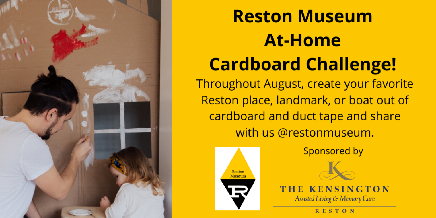The Reston Historic Trust & Museum to host an At-Home Cardboard Challenge