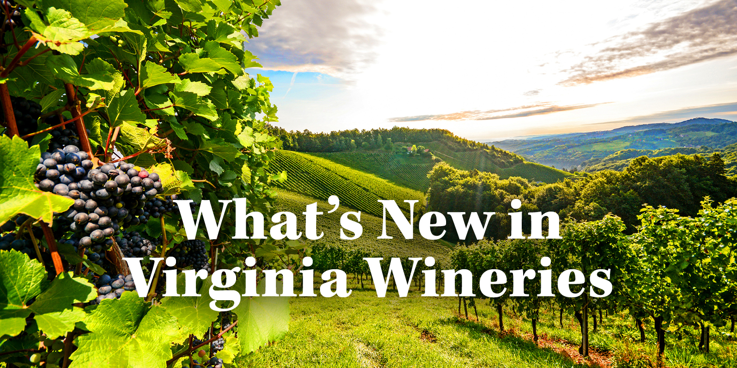 What's New in Virginia Wineries