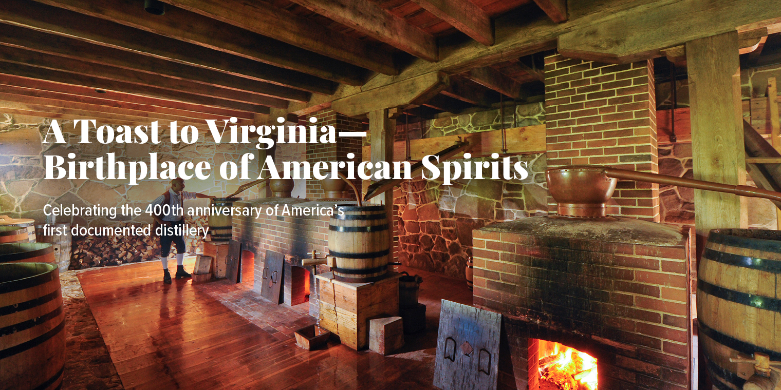 A Toast to Virginia—Birthplace of American Spirits