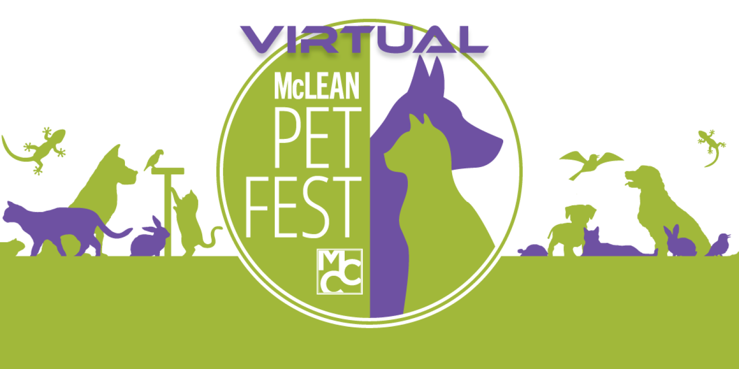 McLean Community Center's McLean Pet Fest will be held virtually