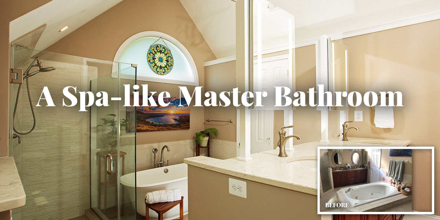 A Spa-like Master Bathroom