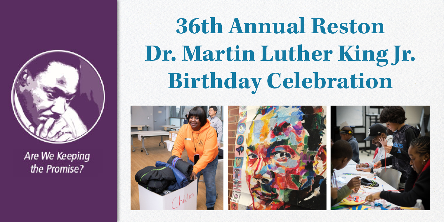 36th Annual Reston Dr. Martin Luther King Jr. Birthday Celebration