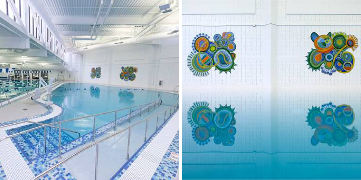 Reston Community Center's Aquatics Center Renovation Earns Regional Public Works Award