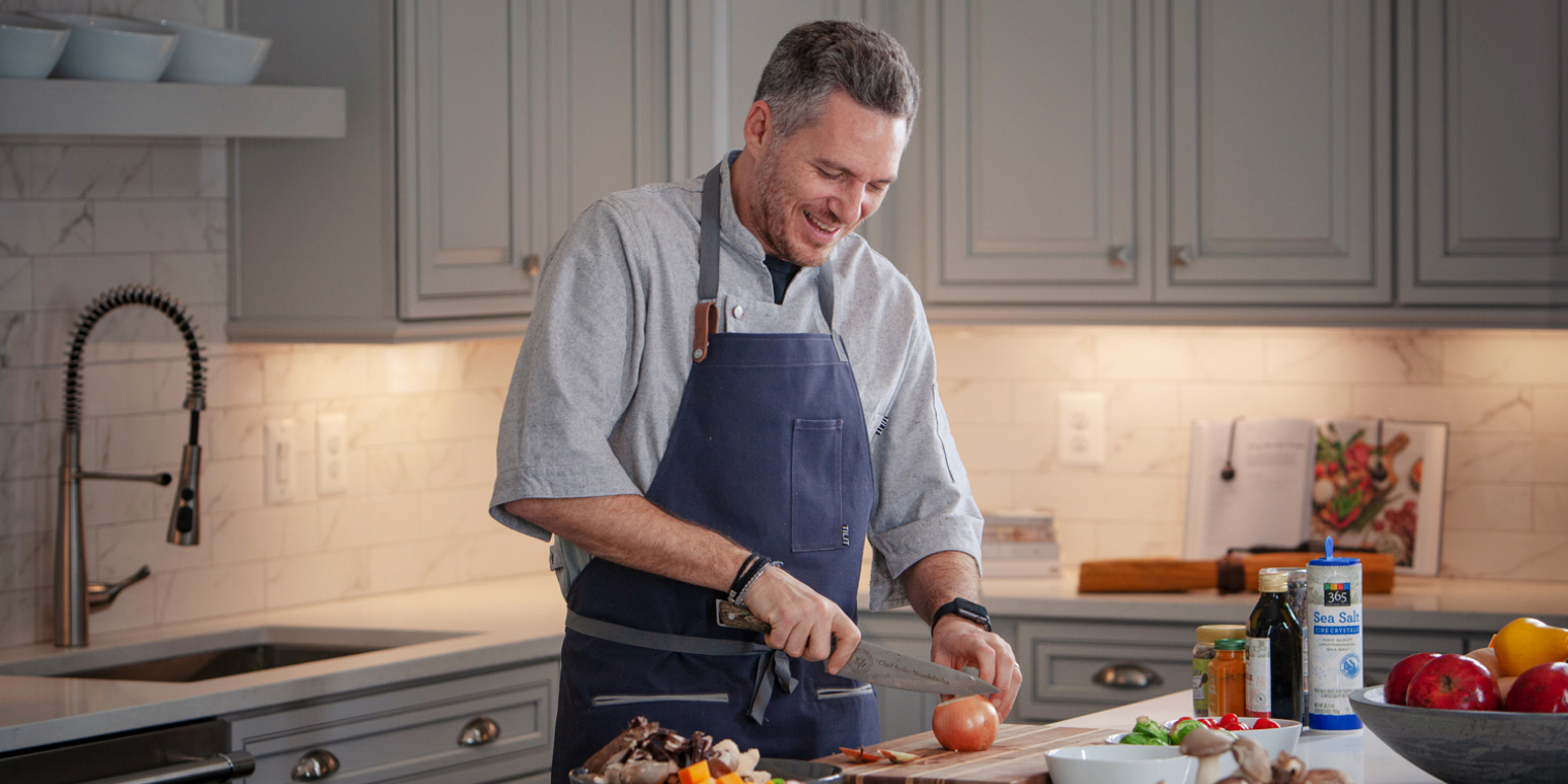 Van Metre Homes Ambassador Chef Spike Mendelsohn Shares Kitchen Design Tips