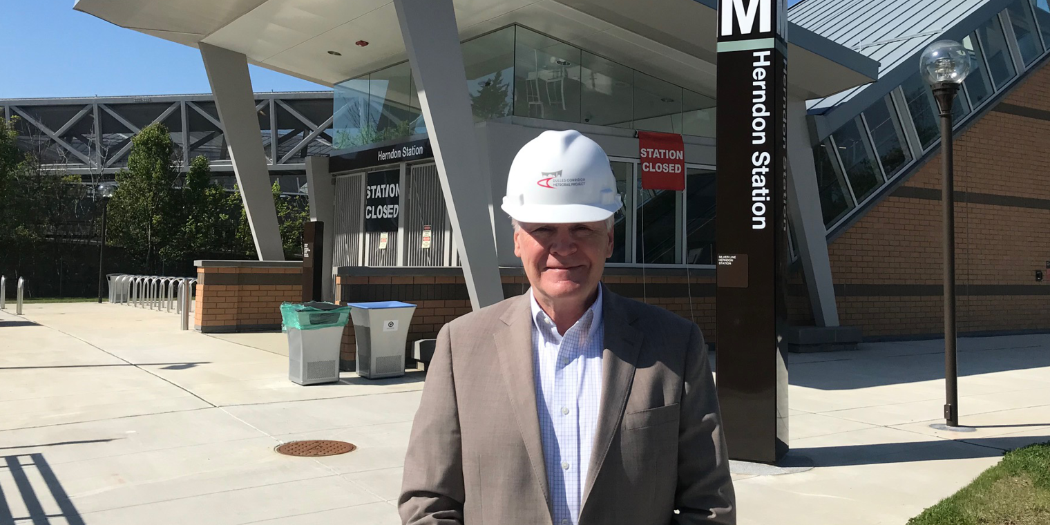 Charles Stark, Executive Director of the Dulles Corridor Metrorail Project, Talks About Phase 2