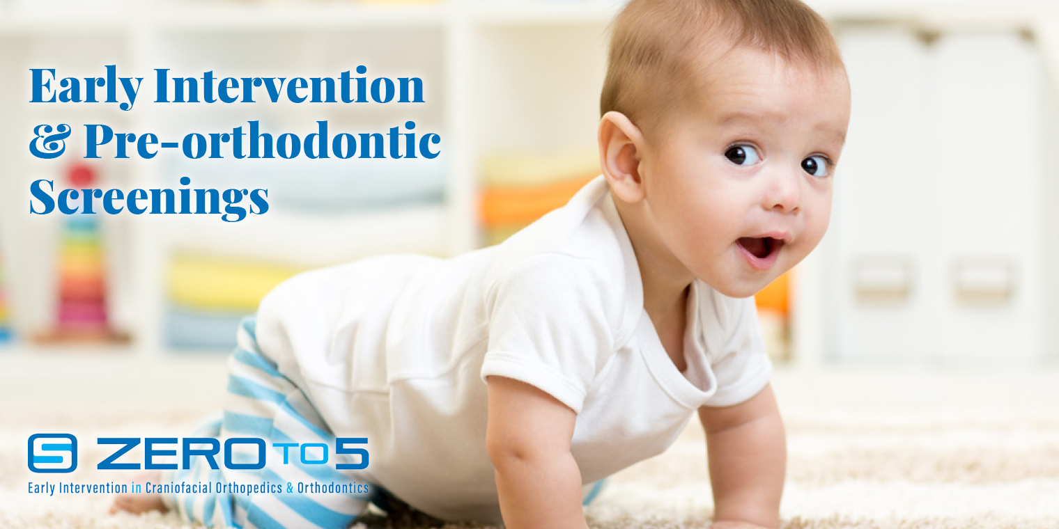 Early Intervention & Pre-orthodontic Screenings