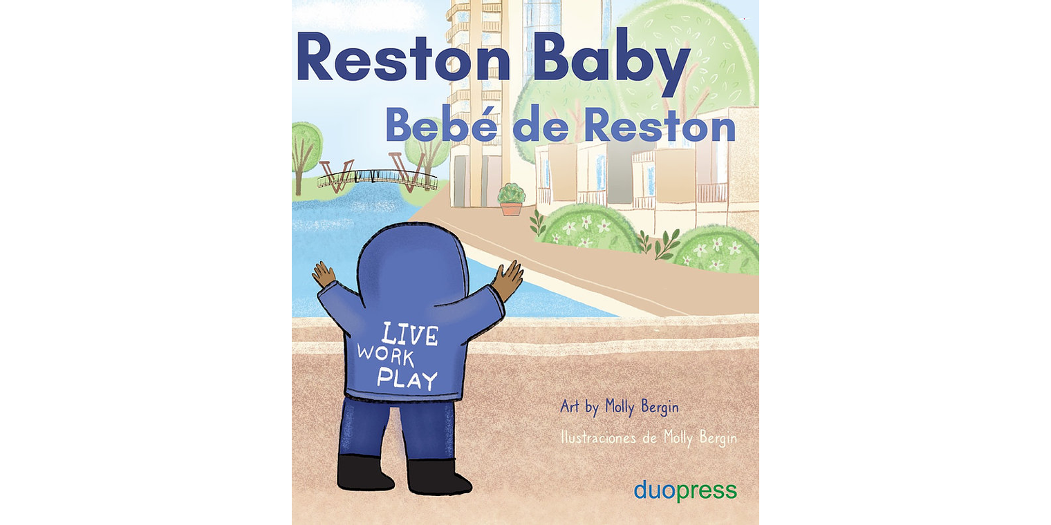 Reston's Newest Residents to Receive Hometown Baby Board Book