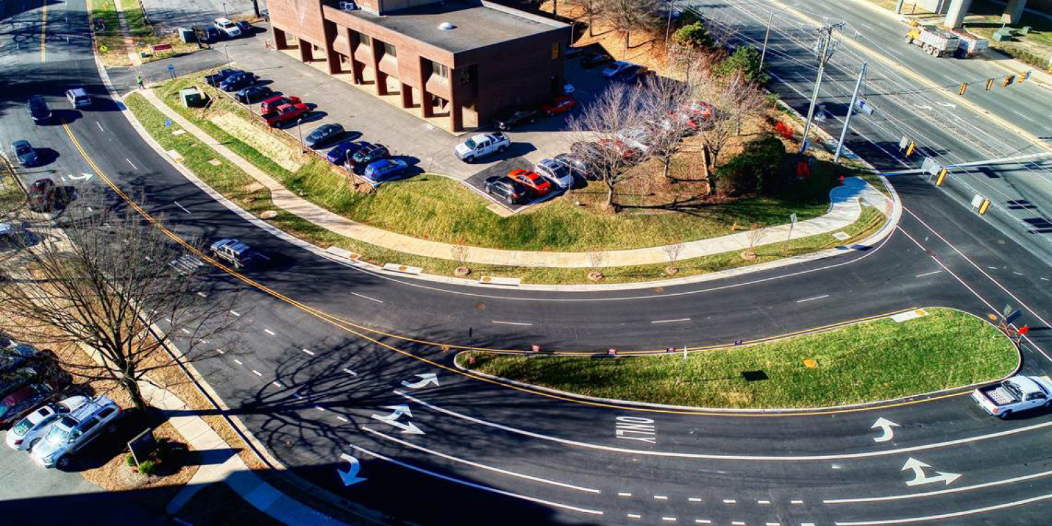 Improvements to the Old Meadow Road Intersection