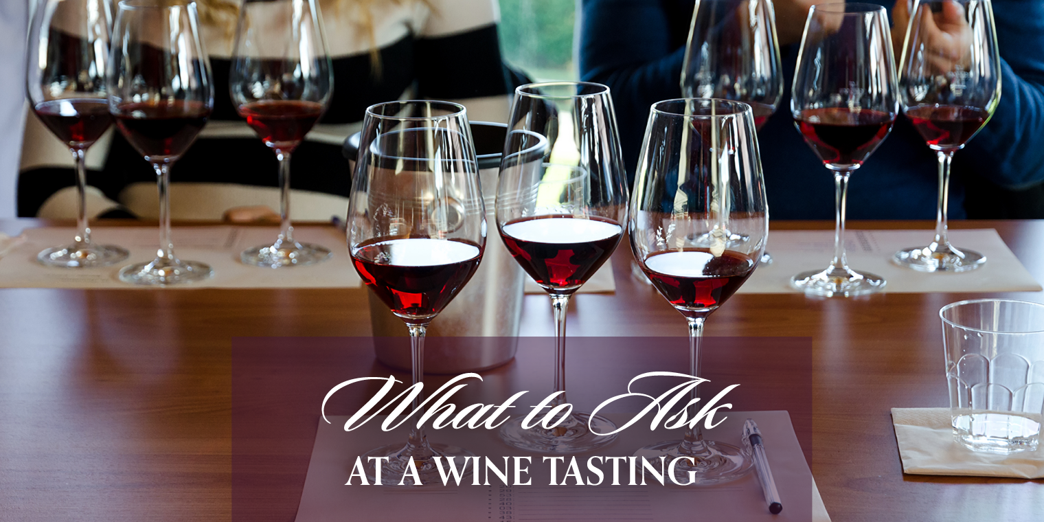 What to Ask At a Wine Tasting